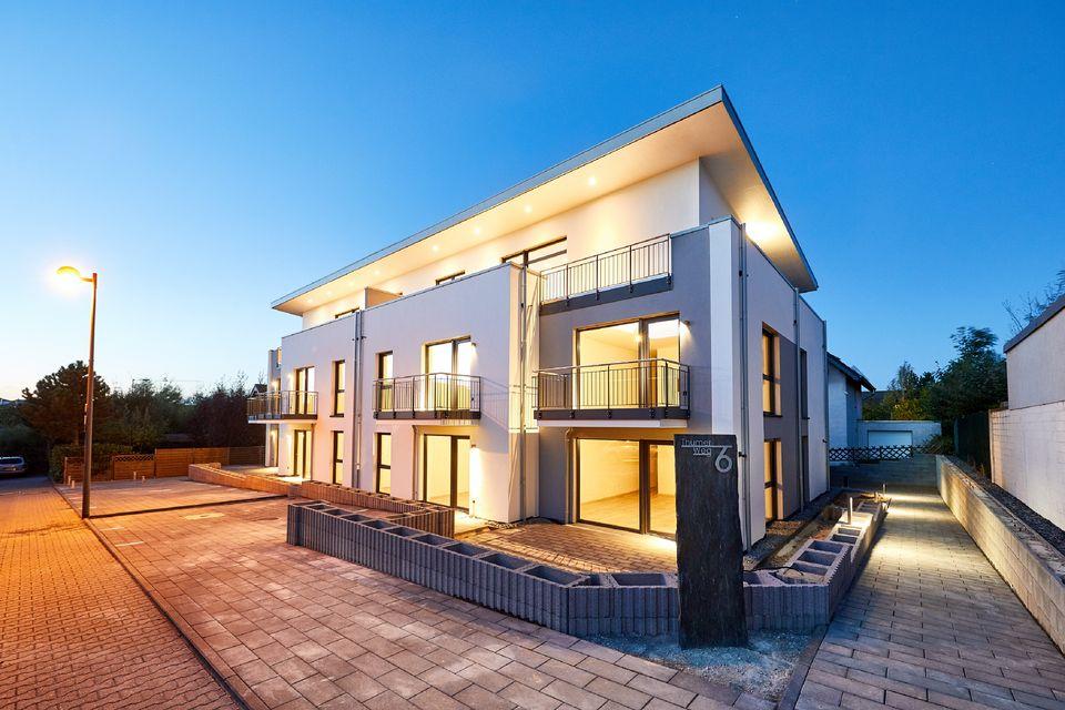 strick architekten euskirchen k ln bonn neubau eines 10 familienhauses mit staffelgeschoss. Black Bedroom Furniture Sets. Home Design Ideas